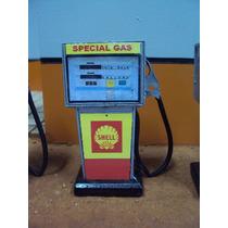 Réplica De Bomba De Gasolina Anos 70 Shell Escala 1:18