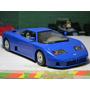Carro Bugatti Eb 110 1991 Escala 1:24 Burago Metal