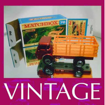 1976 Matchbox Lesney Dodge Stack Mini 1/64 Caminhão - Mtch02
