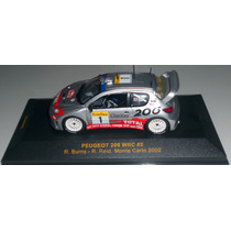 Ixo Peugeot 206 Wrc Monte Carlo 2002 (na Caixa)