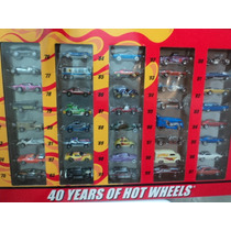 Hot Wheels - Set 40th Years Since 68 Lacrado E Exclusivo!