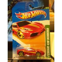 Hot Wheels Treasure Hunt Ferrari 430 Scuderia - 2012