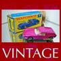 1971 Matchbox Lesney Lotus Europa Original Box - Cx Az