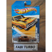 Hot Wheels T-hunt 69 Dodge Coronet Super Bee -superized 2012