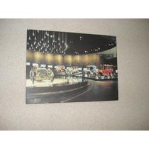 Placa Decorativa 38x27cm * Museu Mercedes Benz * Antigos