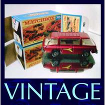 1970 Matchbox Lesney Freeman Van 1/64 Miniat Transition
