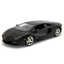 Lamborghini Aventador Lp700-4 1:24 Maisto 31362-preto