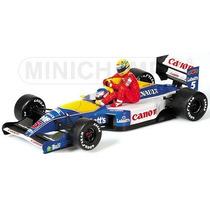 Miniatura Senna Mansell Carona 1:43