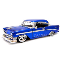 Chevy Bel Air 1956 Tunning Jada Toys 1/24 53607-azul