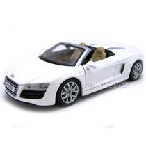 Audi R8 Spyder 1:24 Maisto Special Edition #31204-branco