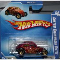 Hot Wheels Custom Vw Beetle Fusca - 121 De 2009 (lacrado)