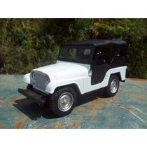 Miniatura Jeep Willys -edicao Jornal Extra - Personalizado