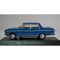Colecao Carros Inesqueciveis Do Brasil- Simca Esplanada 1966