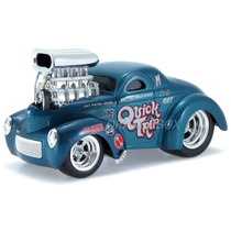 Willys Coupe 1941 Muscle Machines Maisto 1:24 32237-azul
