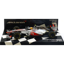 1:43 Minichamps Mclaren Mercedes Mp4-27 Hamilton 2012
