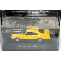Miniatura Opala Ss 1976 1:43 Carros Inesquecíveis Do Brasil