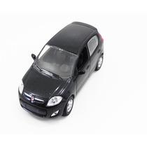 Miniatura Fiat Palio 2012 Preto Escala 1/43 - Norev 771180
