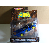 Batmovel Anos 80 - 2012 - Hot Wheels - Carro Do Batman 1:50