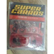 Miniatura Kit P/ Montar Ferrari 458 Itália - Maisto - 1:24