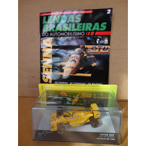 Ayrton Senna - Lotus 99 T - Gp Monaco 87 - Formula 1 - 1:43