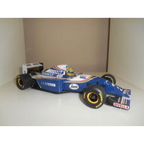 Miniatura Ayrton Senna Willians Fw16 Minichamps 1/18 F1