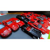 Coleção 12 Ferraris Bburago 1/43 N Minichamps Hotwheels