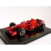 Miniatura Ixo F1 1/43 Felipe Massa Ferrari F2008 Formula 1