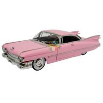 Cadillac Coupe De Ville 1959 1/24 Jada Rosa