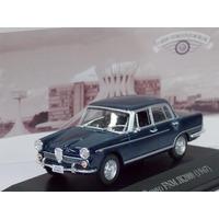 Miniatura Alfa Romeu Jk 2000 Carros Inesquecíveis Do Brasil