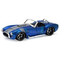 Shelby Cobra 427 S/c 1965 1:24 Jada Toys 90537-1-azul