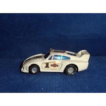 Carrinho Miniatura Brinquedos Rei Porsche 935-77 Anos 80