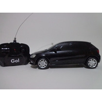 Carro Controle Remoto Vw Gol 1/18 Cks Preto
