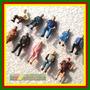 10 Unidades Figuras Humanas Sentadas Escala 1:43
