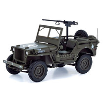 Jeep Willys 1/4 Ton U.s Army 1942 1:18 189011