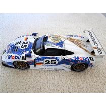 Miniatura Porsche 911 Gt1 Racing Escala 1:18 Ut Metal Lindo