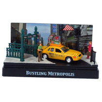 Diorama Bustling Metp Ny City Ford Crow Motormax 1:64 73650