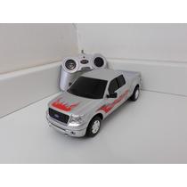 Ford F150 Prata - Controle Remoto - 1:24 Cks