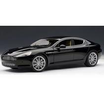 Miniatura Aston Martin Rapide Preto 1:18 Autoart 70216