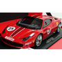 Miniatura Ferrari 458 Challenge 2010 Luxury 1:18 Bbr Models