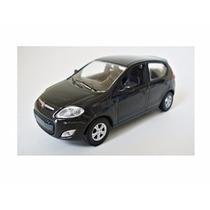 Miniatura De Fiat Novo Palio Preto 1:43 Norev 420084