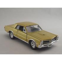 Miniatura Pontiac Gto 1965 Mostarda