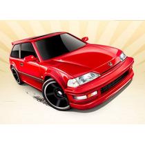 Miniaturas Hot Wheels - 1990 Honda Civic Ef (blister)