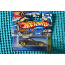 Hotwheels - Corvette C6 - T-hunt - Raro - 2006