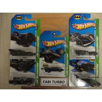 Hot Wheels Coleção Batman 2013 - Os 5 Modelos
