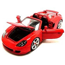 Porche Carrera Gt Convercivel Nimiatura Coleção Jada Toys
