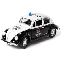 Fusca 1967 Policia Civil Greenlight 1:18