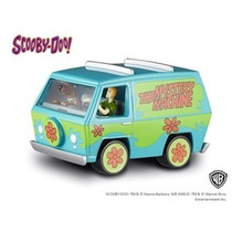The Mystery Machine Carro Do Scooby Doo! C/ Figuras 1:50 Hwe
