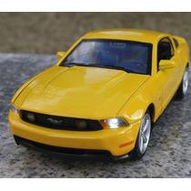 Automodelo Miniatura Réplica Ford Mustang Gt500 Luz E Som