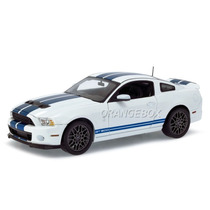 Ford Shelby Gt500 2013 Shelby Collectibles 1:18 Branco Sc394
