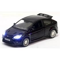 Miniatura Ford Focus Rs 2009 Com Luz E Som